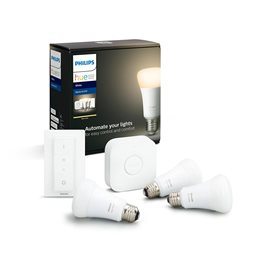 8718696785232 Hue Bluetooth set 3x LED žárovka White E27 9W 2700K + Bridge + Dimmer Switch