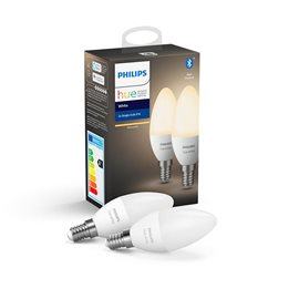 8718699671273 Hue Bluetooth set 2x LED žárovka White E14 5,5W 470lm 2700K