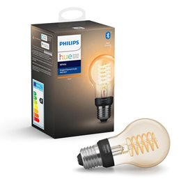 Hue Bluetooth LED žárovka Filament White E27 A60 7W 550lm 2100K