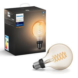 Hue Bluetooth LED žárovka Filament White E27 G93 7W 550lm 2100K