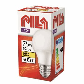 PILA LED 75W A60 E27 WW FR ND LED žárovka 10W 1055lm